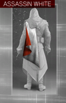 ACBH Assassin White Cape v