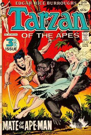 Cover for Tarzan #209