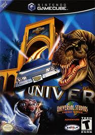 Universal Studios Theme Parks Adventure American Gamecube Cover