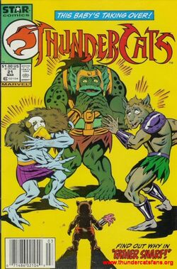 Snarf Thundercats Wiki on Issue 21  Father Snarf   Thundercats Wiki