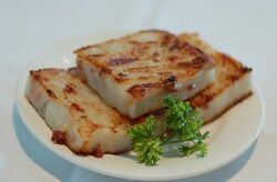 Fried turnip cake
