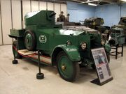Rolls Royce 1920 Mk1 1 Bovington