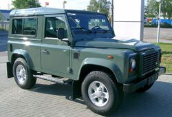 Land Rover Defender front 20070518