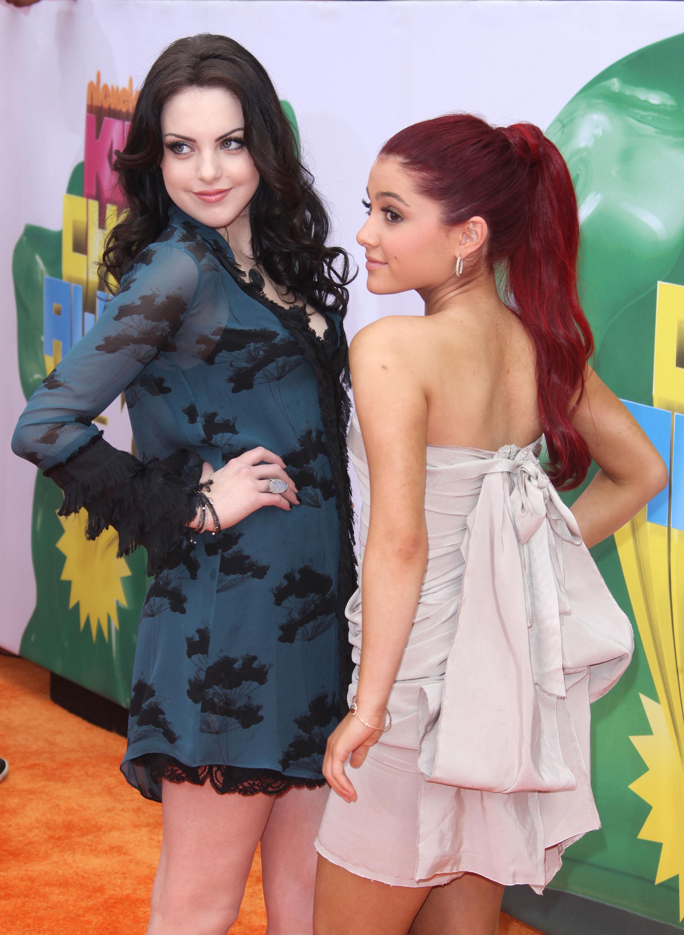 ariana grande and elizabeth