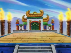 Flame's Battle Stage