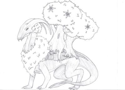Tree Based Elder Dragon 001