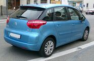 Citroen C4 Picasso rear 20071025