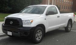 2nd Toyota Tundra regular cab