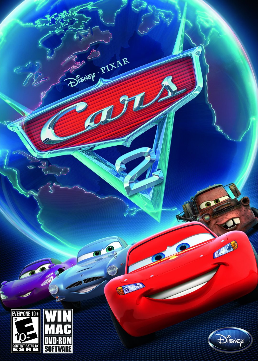 cars 2 the video game pixar wiki disney pixar. Black Bedroom Furniture Sets. Home Design Ideas
