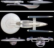 Excelsior Class study models by Bill George