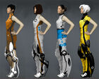 Portal 2 PotatoFoolsDay ARG Chell Outfit Concept Art 2