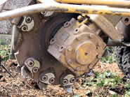 Stump grinder cutting wheel arp