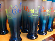 World of Color Water Glass