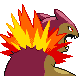 Typhlosion Shiny Back IV
