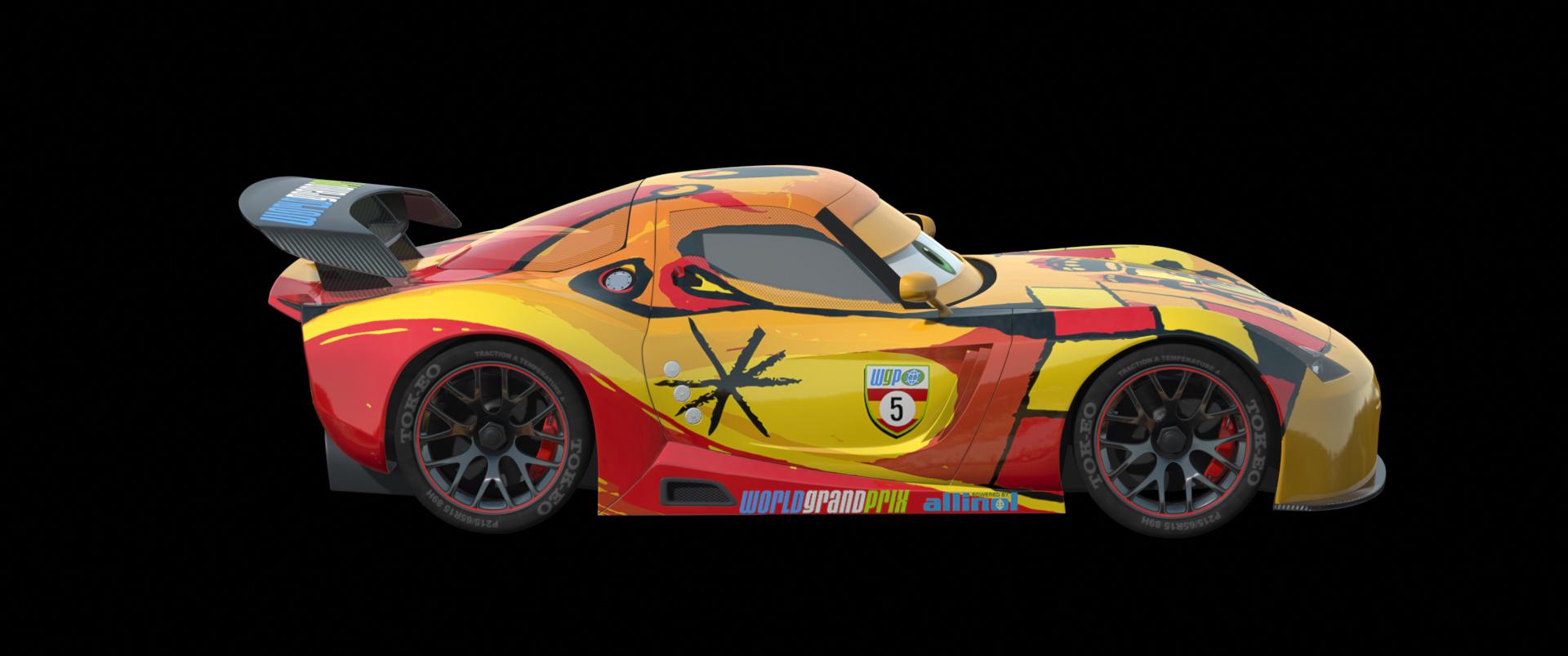 Disney Cars 2 And Real 1 1 Car Counterparts Disney Pixar