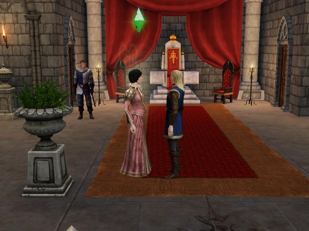 Sims Medieval Woohoo No Baby.