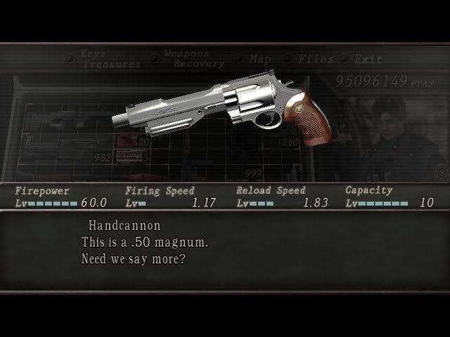 Armas Del Resident Evil 4 Parte Final
