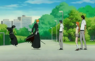 Ichigo's friends intervene