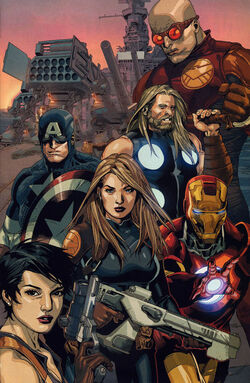 New Ultimates (Earth-1610) from Ultimate Avengers vs. New Ultimates Vol 1 2