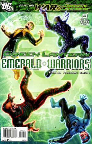 Cover for Green Lantern: Emerald Warriors #9