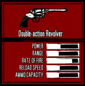 Rdr weapon double-action revolver