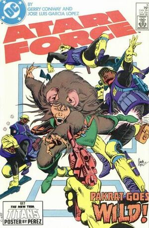Cover for Atari Force #3