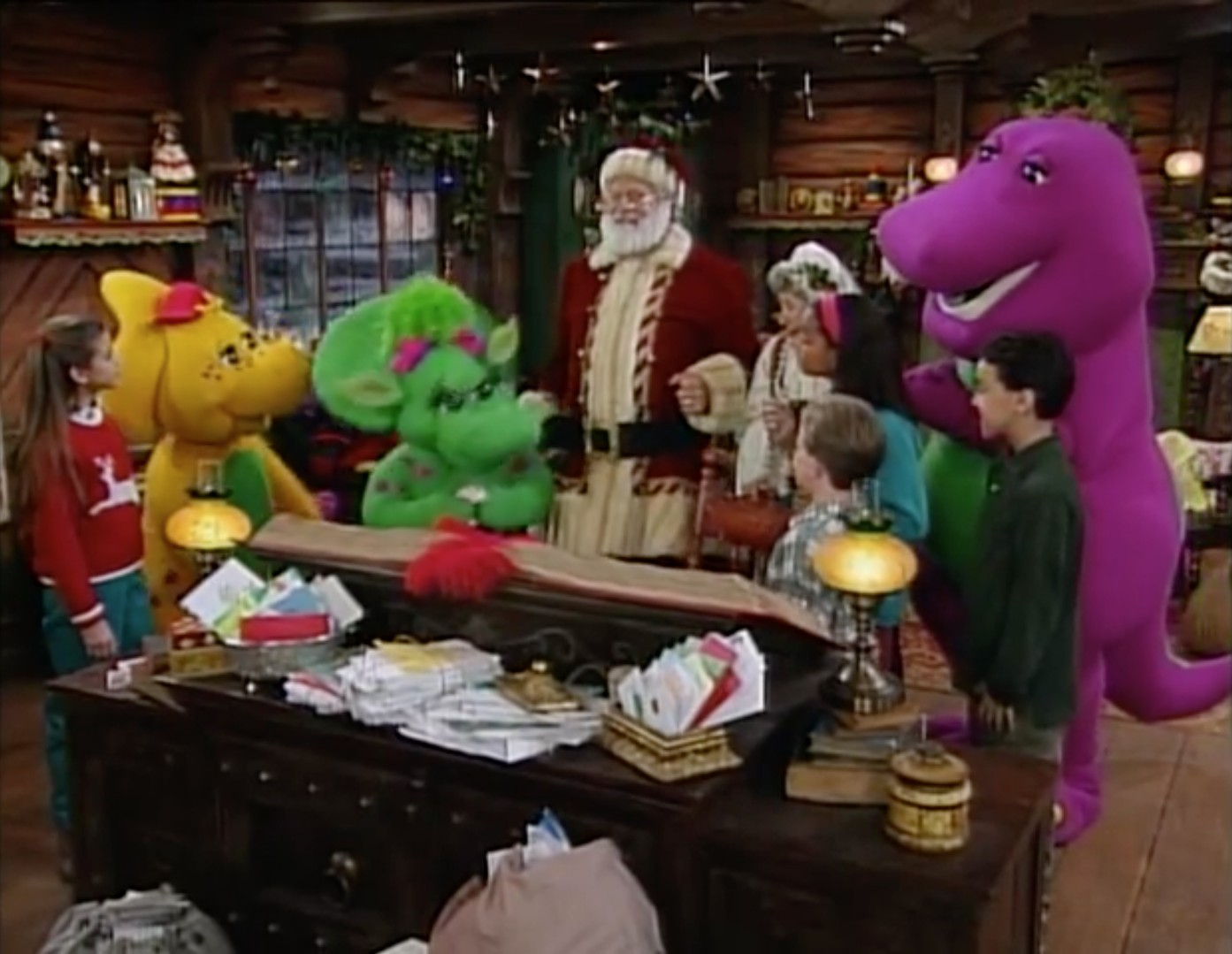 Barney's Night Before Christmas - Barney Wiki