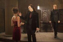 Aro and a pretty girl