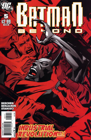Cover for Batman Beyond #5