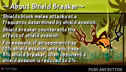 About shield breaker