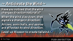 Anticipate the wind