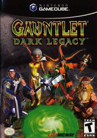 Gauntlet06DL Render Cover NTSC GC and Xbox