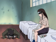 Hiashi bows to Neji