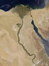 Nile composite NASA
