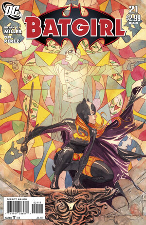 Cover for Batgirl #21