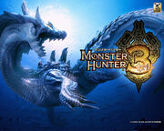 Monster hunter 3 tri wall 1