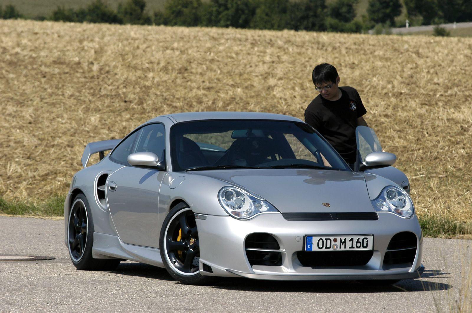based on Porsche 996 GT2.
