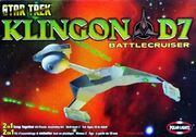 Polar Lights Model kit PL4202 Klingon Battle Cruiser 2003