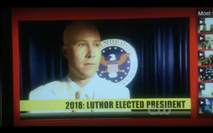 Smallville Lex for pres.