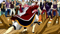 Natsu arrives