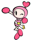Pink Bomberman