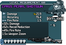 ZPR21 Pearl Shotgun happypal