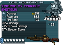 ZPR1200 XX Terrible Shotgun happypal