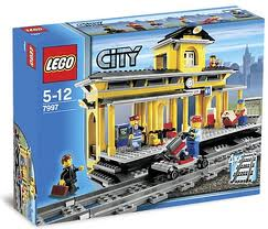 """Конструктор  """"Железнодорожная станция """", серия Lego City 7997."""