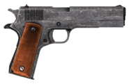 .45 Auto pistol
