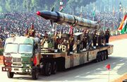 Agni-II missile (Republic Day Parade 2004)