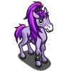 Purple Ponytail Foal-icon