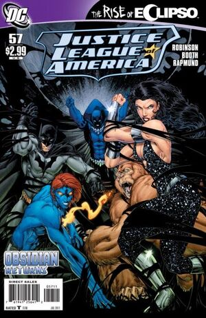 Cover for Justice League of America #57