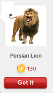 RV Persian Lion