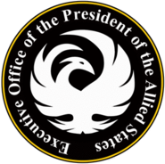 The Seal of the President of the Allied States